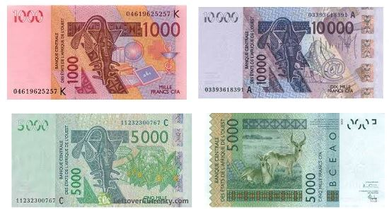 Měna v Senegalu